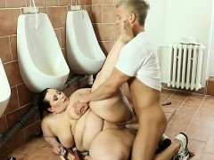 BBW lady punishing hard a...